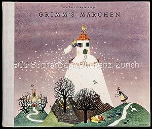 Grimm's Märchen (Sammelband): Frau Holle; Der Wolf: Märchen.   Leupin,