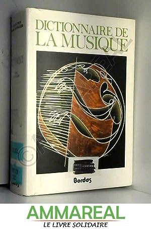 Dictionnaire de la musique. Les hommes et: Marc Honegger