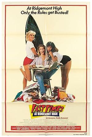 Film Poster): Fast Times at Ridgemont High: CROWE, Cameron)