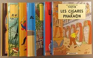 Tintin - 7 albums petit format. (Le: HERGÉ
