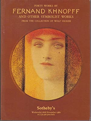 Forty Works by Fernand Khnopff and other: Khnopff, Fernand