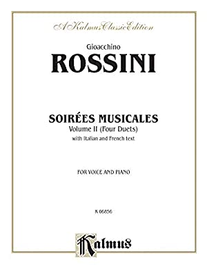 Soirees Musicales (4 Duets), Vol 2: Nos.