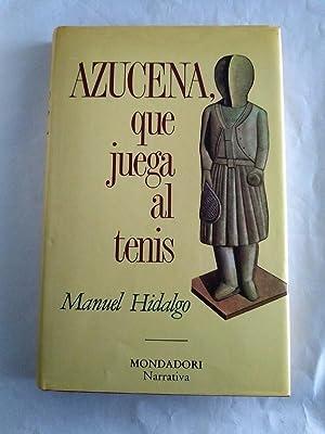 Imagen del vendedor de Azucena, que juega al tenis a la venta por Libros Ambigú