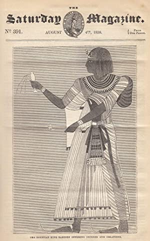 The Egyptian King Rameses Offering Incense and