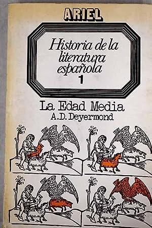 Historia de la literatura española, tomo I: Deyermond, A. D.