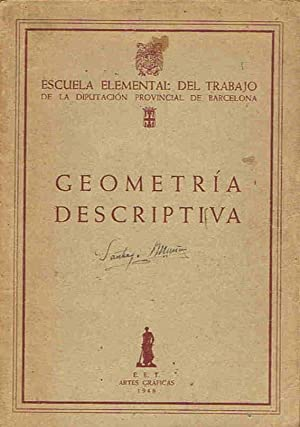 GEOMETRÍA DESCRIPTIVA: Sección Ediciones