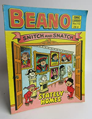 Beano Comic Library No 112 Snitch and