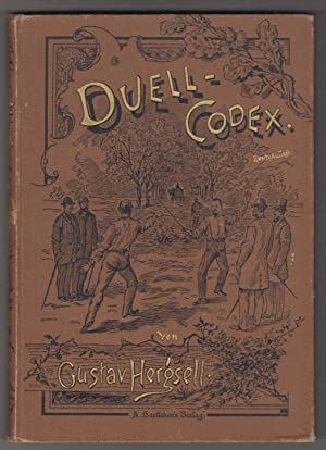 Duell-Codex.: HERGSELL, Gustav.