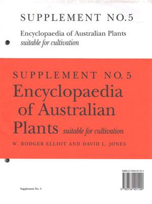 Encyclopaedia of Australian plants suitable for cultivation,: Elliot, W.Rodger and