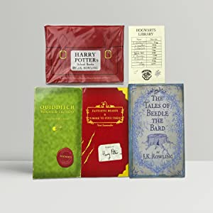 Harry Potter's School Books [Quidditch Through The: Rowling, J K