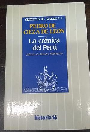 La crónica del Perú, Volume 1|Volume 4: León, de, Pedro