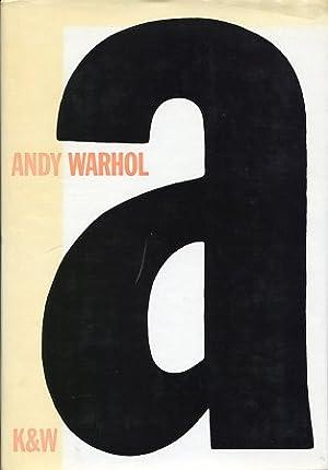 A Ein Roman: Warhol, Andy: