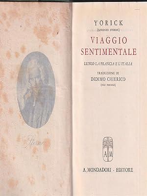 Viaggio sentimentale: Yorick 'Lorenzo Sterne'