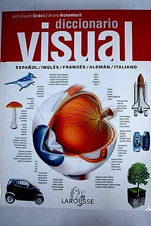 Diccionario visual: español/inglés/francés/alemán/italiano: Corbeil, Jean Claude