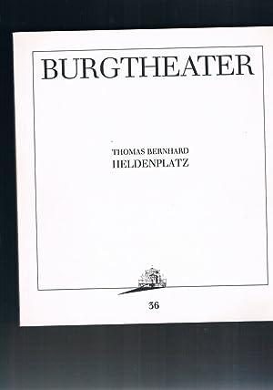 Bild des Verkäufers für Heldenplatz - Burgtheater zum Verkauf von manufactura