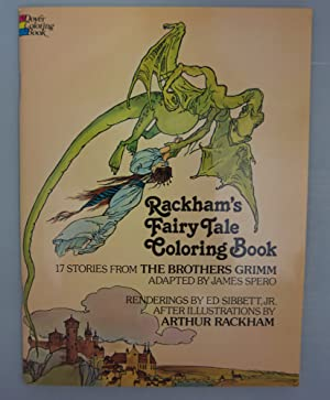 Rackham's Fairy Tale Coloring Book: The Brothers Grimm