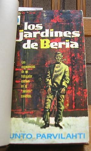 LOS JARDINES DE BERIA. Aventuras de un: PARVILAHTI, Unto (Autógrafo)