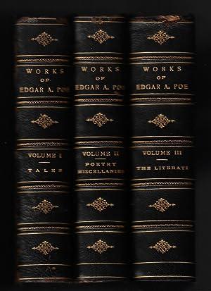 The Works of the Late Edgar Allan: Poe, Edgar Allan;