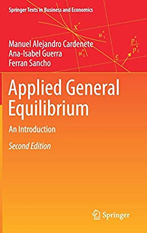 Imagen del vendedor de Applied General Equilibrium: An Introduction (Springer Texts in Business and Economics) a la venta por booksXpress