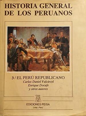 Historia General de los Peruanos - Tomo: Carlos Daniel Valcarcel
