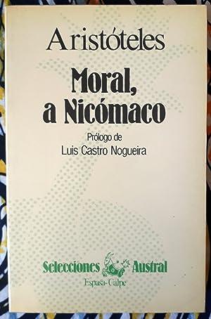 Moral a Nicómaco: Aristóteles