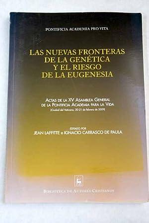 Las nuevas fronteras de la genética y: Carrasco De Paula,