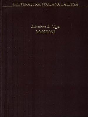 Manzoni: Nigro, Salvatore S.
