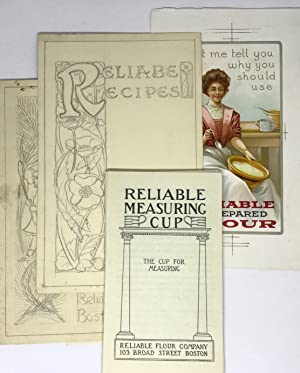 [ORIGINAL ART] [BAKING] Reliable Flour Company Reliable Measuring Cup pamphlets