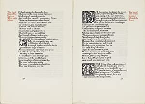 Eight leaves from The Earthly Paradise: Kelmscott Press] Morris,