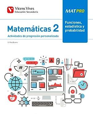 Mat pro 2 funciones, estadistica y probabilidad: Ruiz Bueno, Gines
