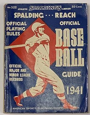 SPALDING - REACH OFFICIAL BASE BALL GUIDE.: Baseball Literature]