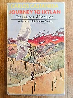 Journey To Ixtlan Lesson of Don Juan: Carlos Castaneda