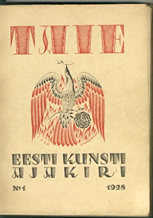 TAIE. Eesti kunsti ajakiri. (Art.The Estonian art: Märt Laarman, with