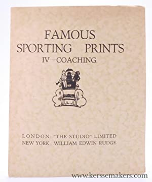 Famous Sporting Prints. IV - Coaching.: Kendall, George.
