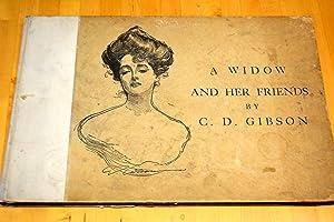 A WIDOW AND HER FRIENDS.: Gibson, Charles Dana.