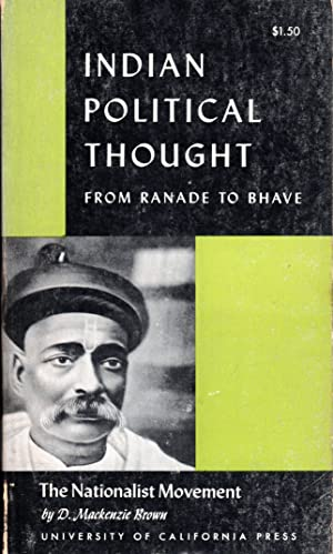 Seller image for NATIONALIST MOVEMENT: Indian Political Thought from Ranade to Bhave for sale by PERIPLUS LINE LLC