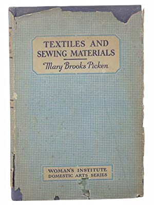 Woman's Institute Library of Dressmaking: Textiles, Laces,: Picken, Mary Brooks
