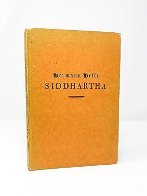 Siddhartha: Herman Hesse