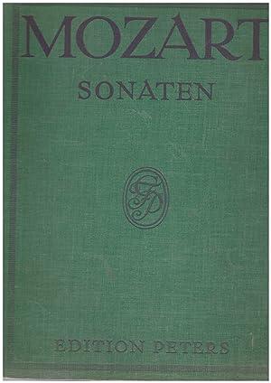 Sonaten für Pianoforte solo. aus Edition Peters: Mozart, W. A.