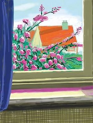 My Window with iPad drawing No. 778,: HOCKNEY, David.