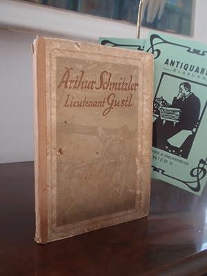 Lieutenant Gustl. Novelle.: Schnitzler, Arthur