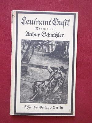 Leutnant Gustl. Novelle.: Schnitzler, Arthur