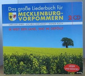 Bild des Verkäufers für Ik weit een Land, wat mi geföllt. Das große Liederbuch für Mecklenburg-Vorpommern. 2 Audio-CDs + Booklet. zum Verkauf von Antiquariat Güntheroth