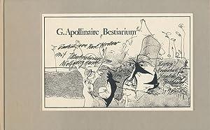 """G. Appollinaire """"Bestiarium"""". Ein Poem. Illustrationen von: Apollinaire, Guillaume:"""