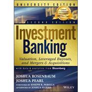 Investment Banking: Rosenbaum, Joshua; Pearl,