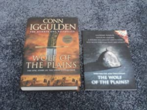 WOLF OF THE PLAINS SIGNED UK FIRST: Conn Iggulden