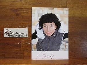Portraitpostkarte // Autogramm Autograph signiert signed signee: Zeh, Juli :