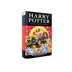 Harry Potter and the Deathly Hallows Signed: J.K. Rowling