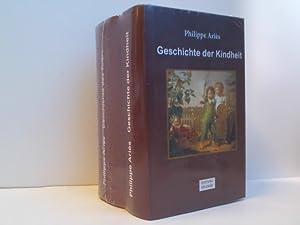Bild des Verkäufers für Konvolut: Geschichte der Kindheit. Geschichte des Todes. 2 Bände zum Verkauf von ABC Versand e.K.