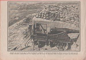Immagine del venditore per IWW. Tsing-Tao (Cina) è capitolata, la bandiera giapponese sulle difese. 1915 venduto da libreria biblos